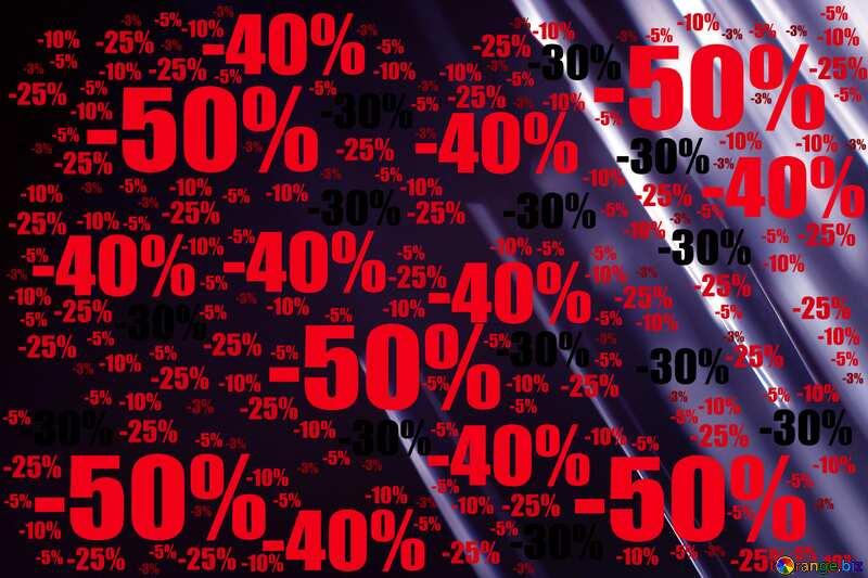 Splash water on black background Sale offer discount template №1700