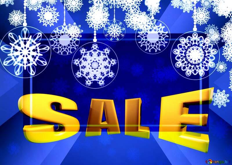 Christmas Sales  design Clipart №40711