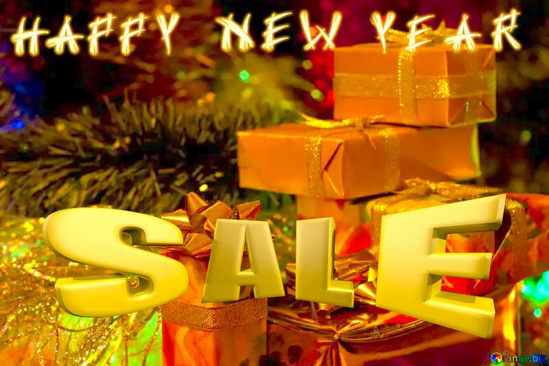 Happy New Year sales gifts card №6494