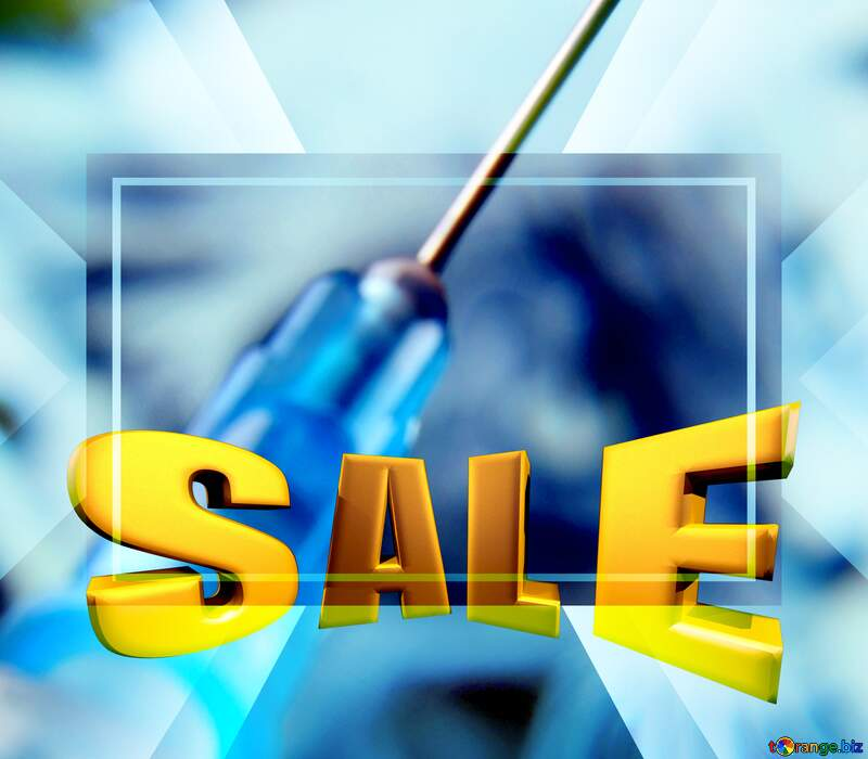 Veterinary care Medicine Sales promotion 3d Gold letters sale background №18891