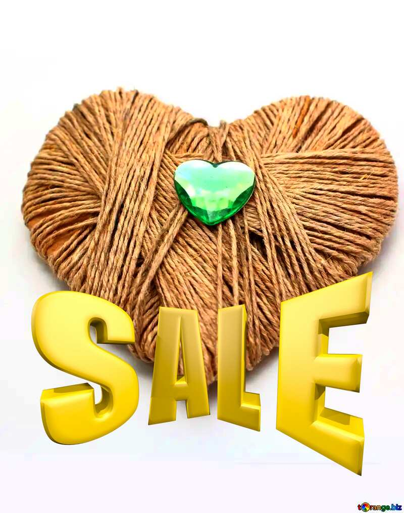 Sales promotion 3d Gold letters sale background Homemade Valentine`s Day Gift №16436