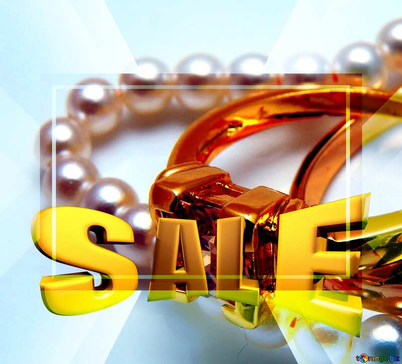 The best gift for girls Sales promotion 3d Gold letters sale background Template №18273