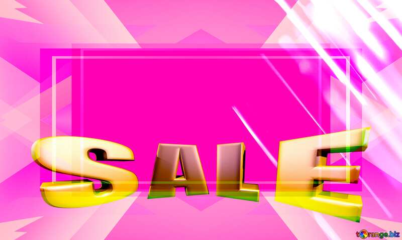 Red Splash water on black background Template Sales promotion 3d Gold letters sale Pink №1700