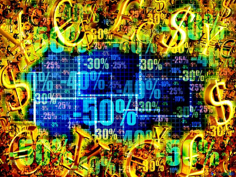 Gold money frame Store Sale Abstract Background Cell Computer Abstract Sale Store №49678