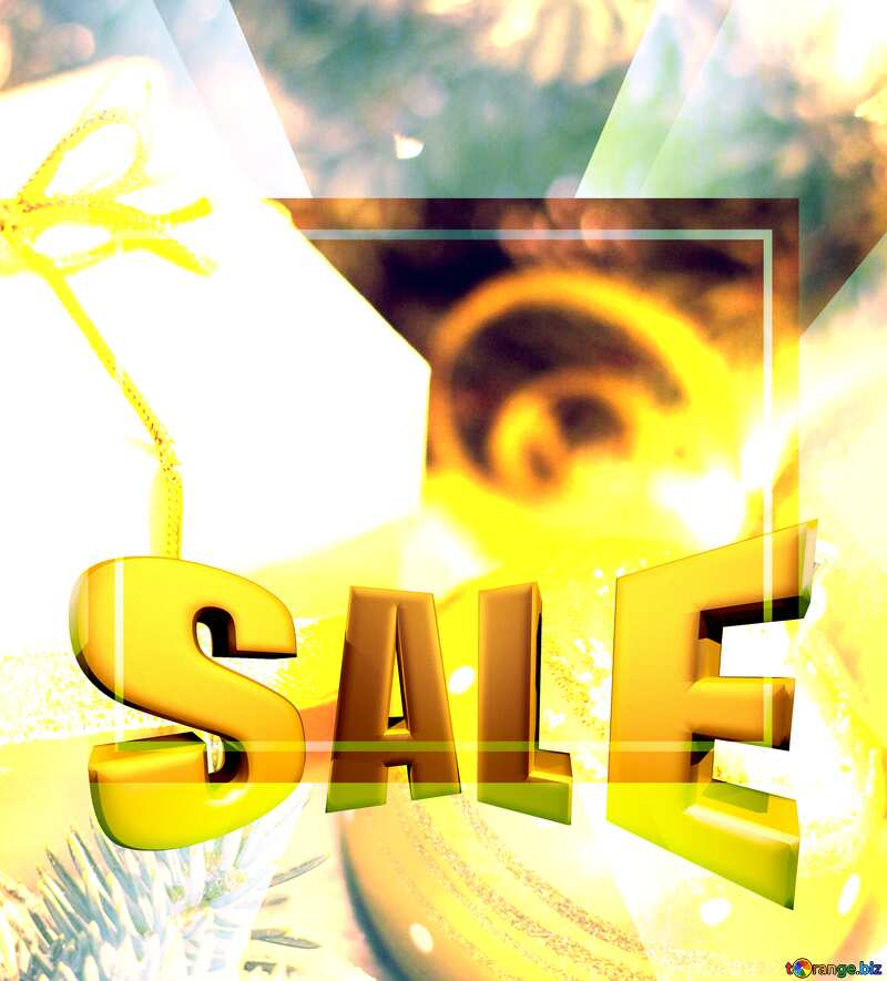 Christmas gifts promotion sale selling poster design banner №15365