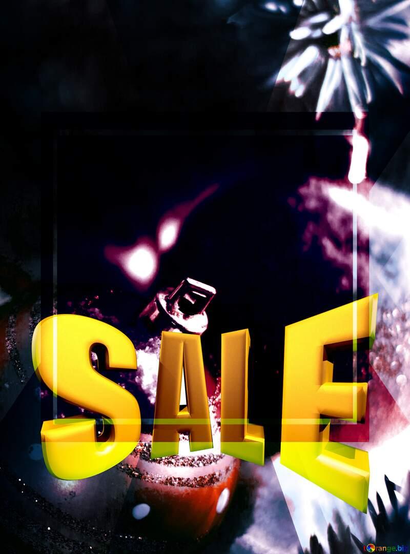 Christmas sale discount dark copyspace  responsive background №15365