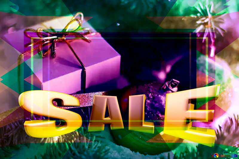 Christmas gifts Sales promotion banner template №15365