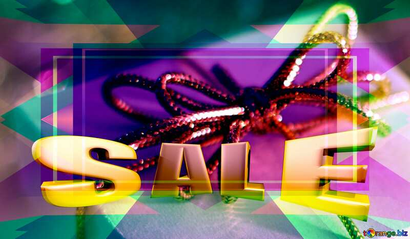 gifts Sales poster banner discount template №15365