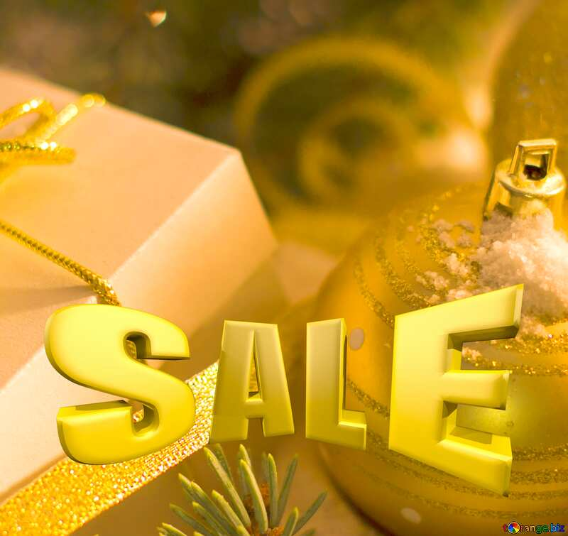 Christmas gifts promotion sale poster №15365
