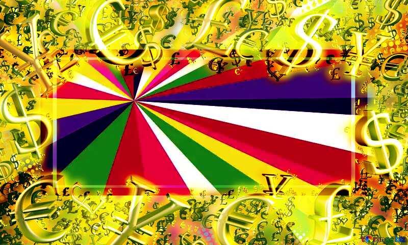 Colors rays Sales promotion 3d Gold letters sale background Template Banner Design Gold money frame border 3d currency symbols №49661