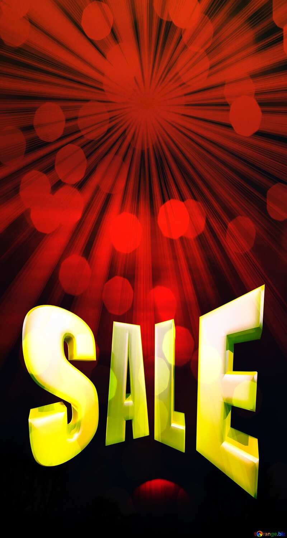 Sunset banner dark Background Sale offer discount template Sales promotion 3d Gold letters №1346