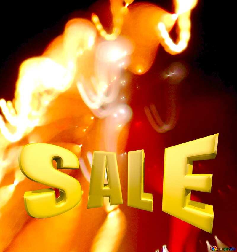 Road night light Art Design Background Sale offer discount template Sales promotion 3d Gold letters №276