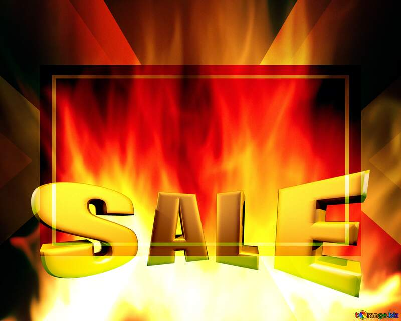 red sale background Template №9546