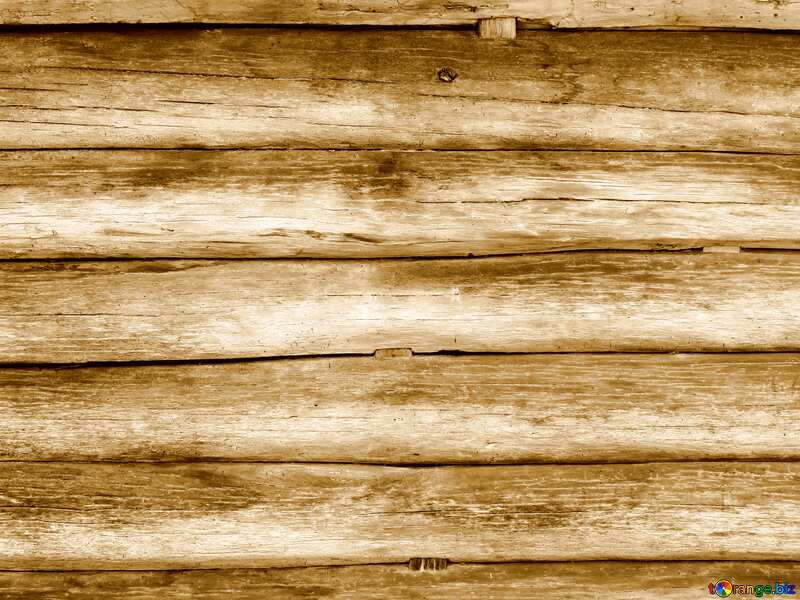 Yellow color. Texture of wooden house wall. №28646