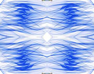 The effect of rotation. Pattern.