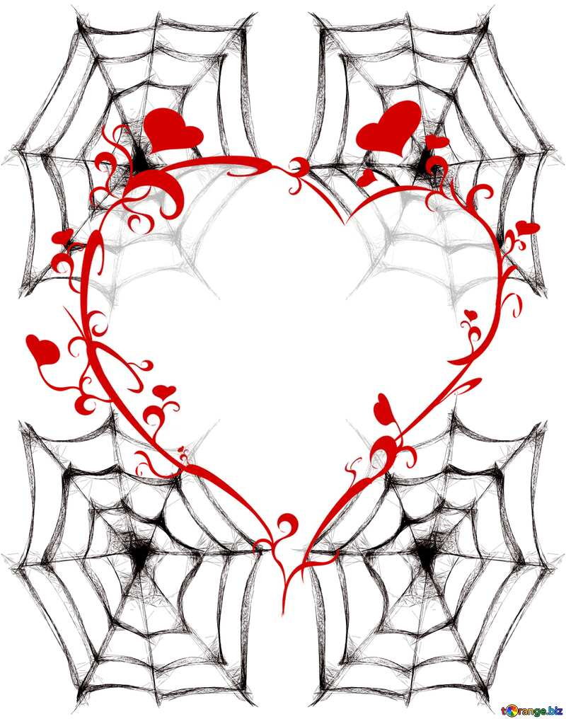The best image. Clipart for Halloween Spider Web. №40484