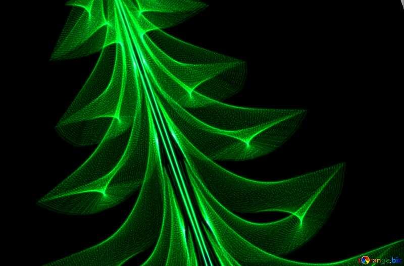 Cover. Christmas tree. №40654