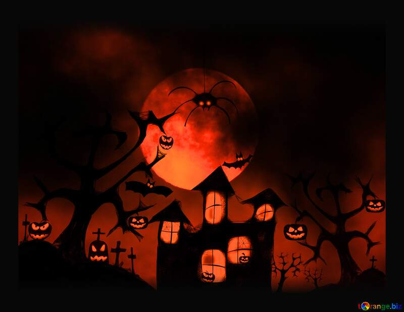 Halloween background №40470