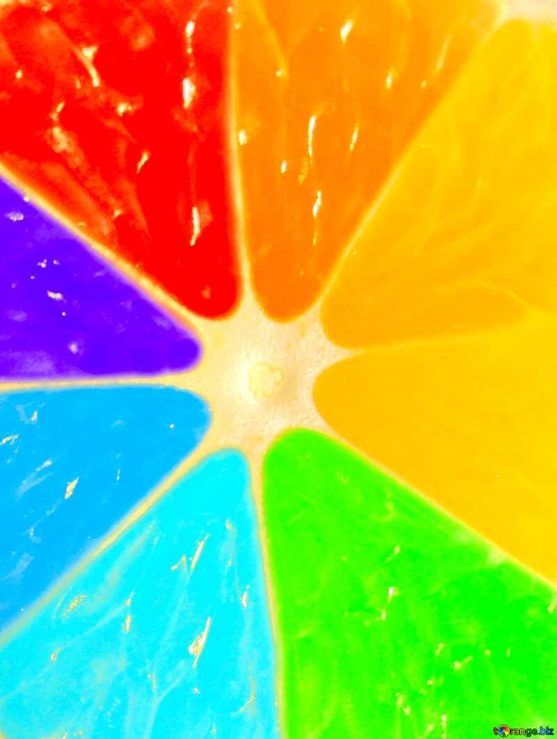 Image for profile picture Colorful Rainbow lemon. №40835