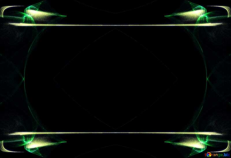 Template background for the label. Space background. №40626