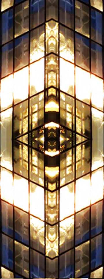 The effect of light. Fragment. Frame Pattern.