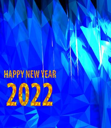 The effect of light. Vivid Colors. Fragment. Happy New Year 2020.