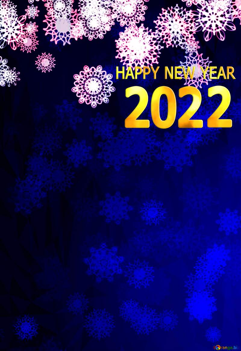 Blue background Christmas and new year Polygon background with triangles №40710