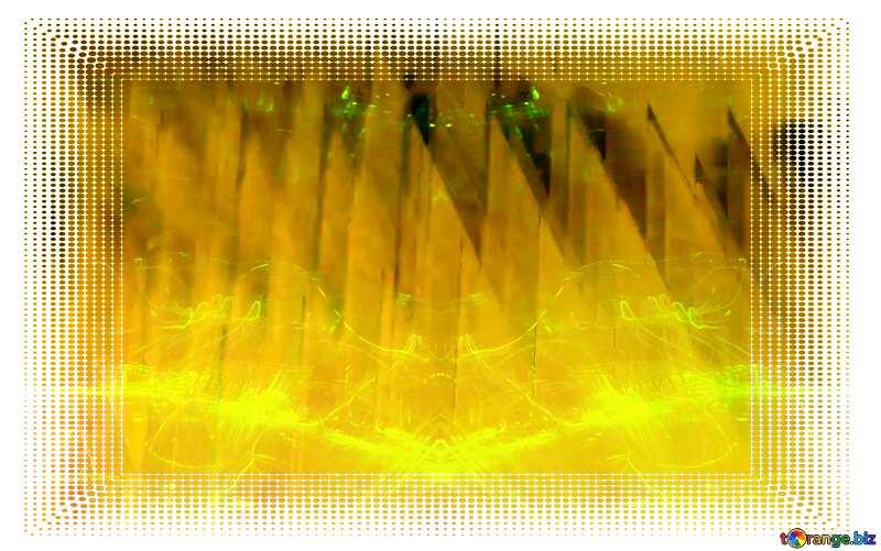 White frame border offset Gold Promotion Sale Background Shape Technology Yellow №51526