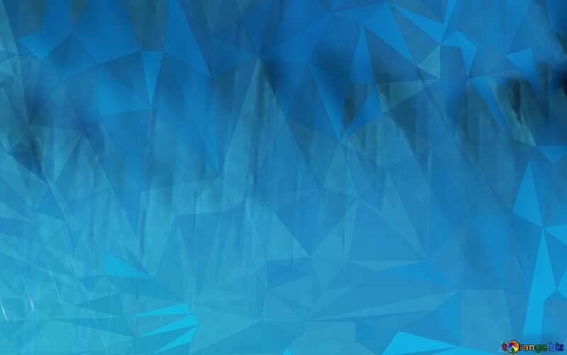 Polygon Geometric promotion light blue background with triangles №51526