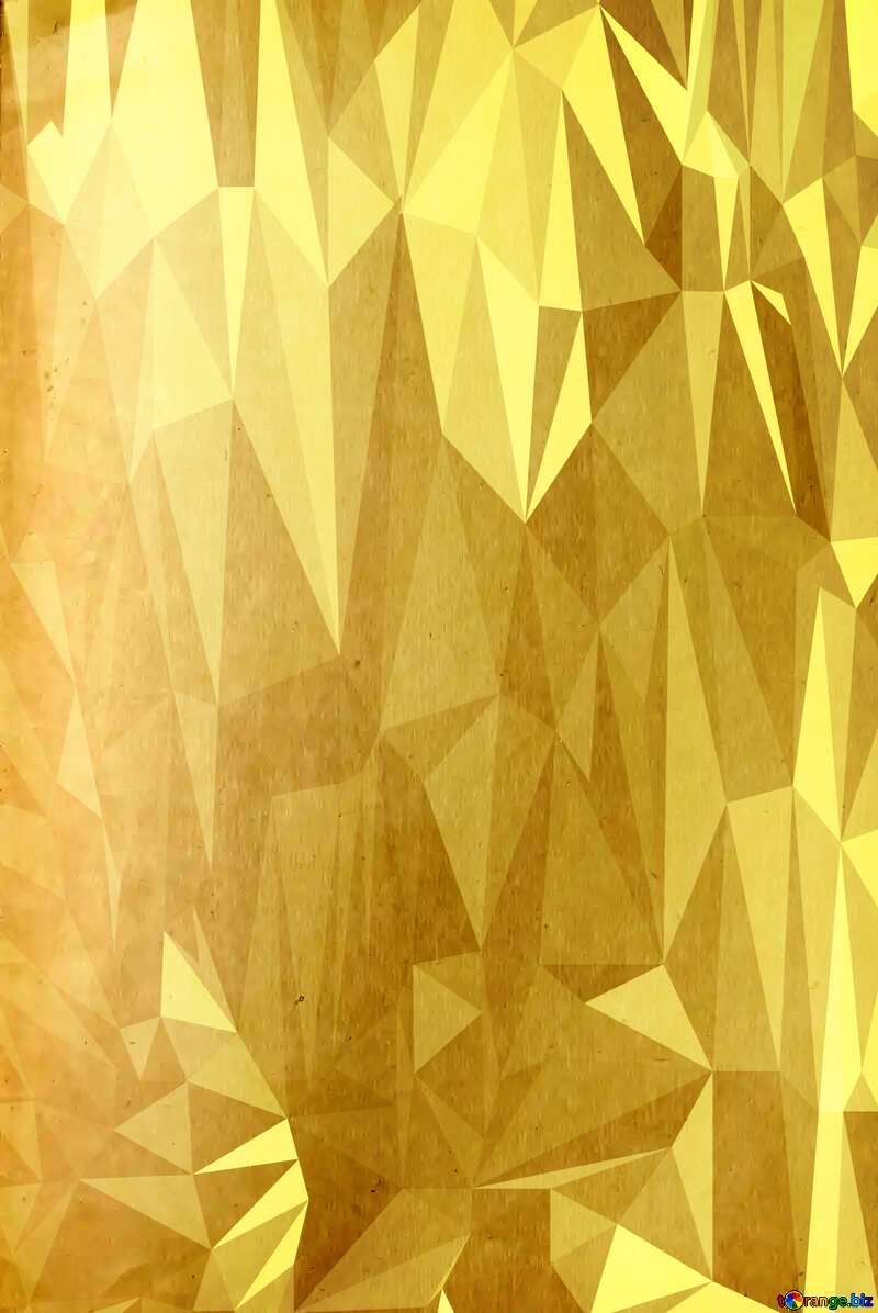 Texture old smooth paper Polygon background with triangles №33004