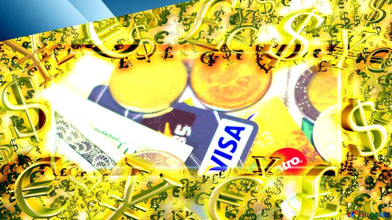 money Visa Russia frame finance. №32372
