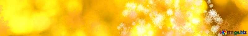 New year golden banner background №40684