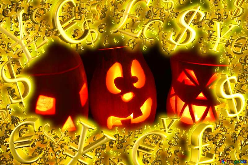 Pumpkins Halloween   promo finance. №24317