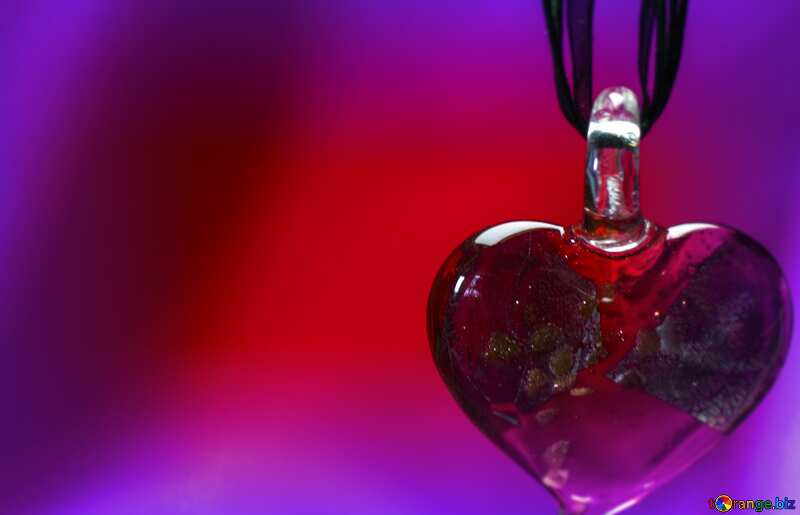 Heart Love  background Red and Blue №17628