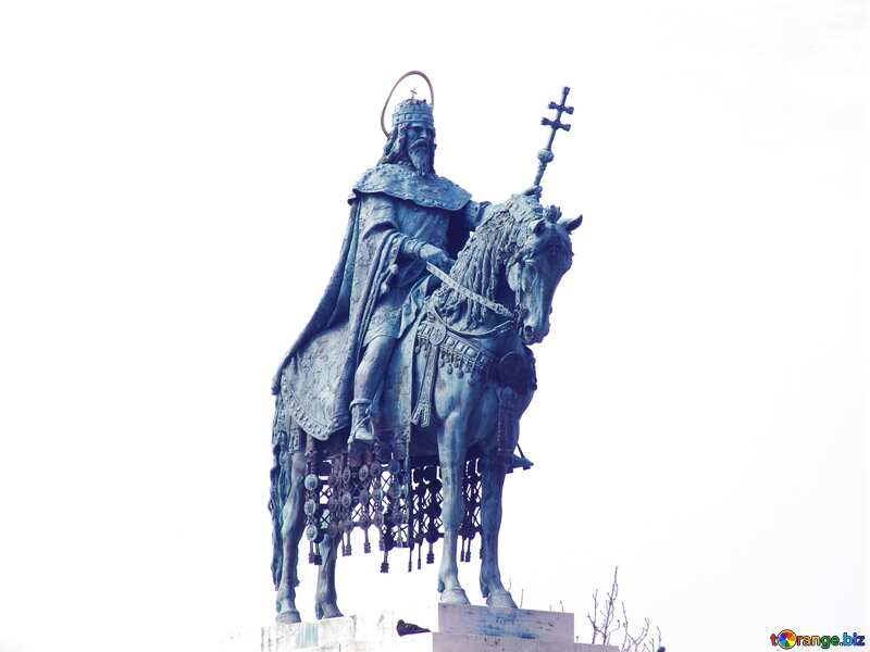 Equestrian statue of St. Stephen, Budapest Hungary №31993