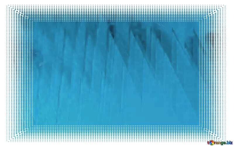 White frame border offset Blue Sale Geometric Background №51526