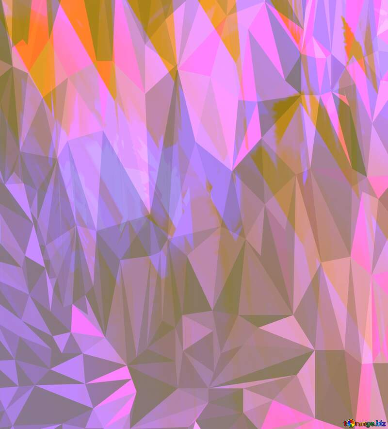 Colors Polygon abstract background with triangles №51524