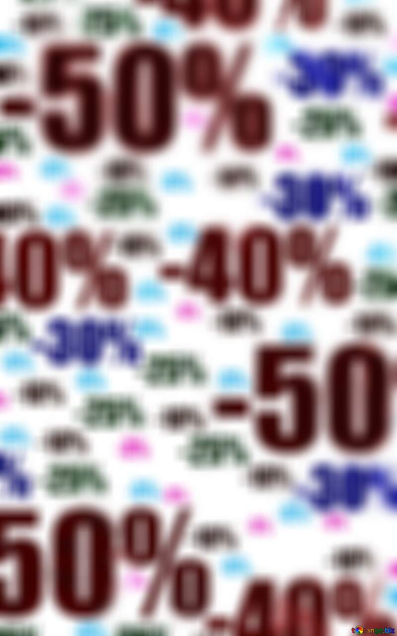 Polygon Store discount blurred background with triangles №51545