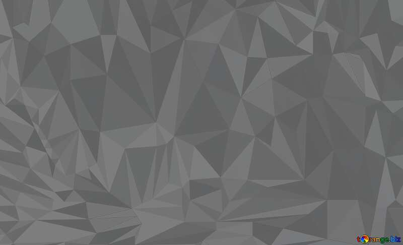 Blue futuristic shape. Polygon background with triangles №51524
