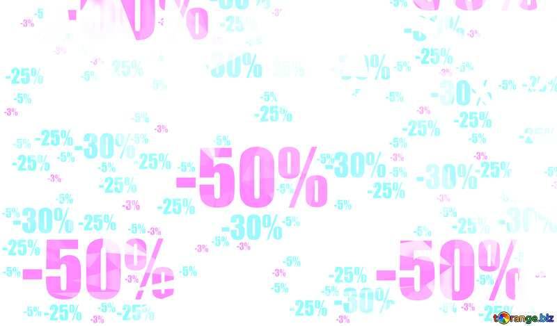 Winter Sale Polygon background with triangles №51545