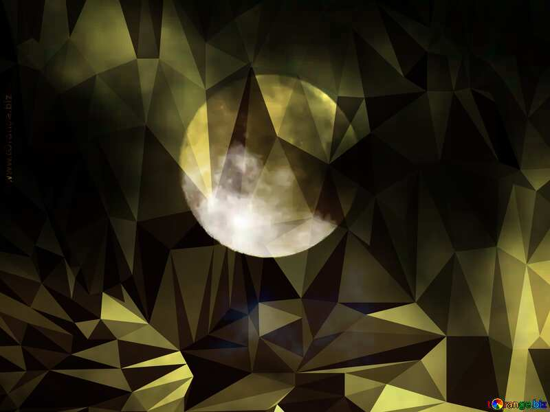 Moon wallpapers Polygon background with triangles №31497