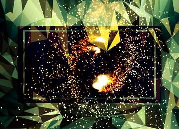 The effect of light. Fragment.