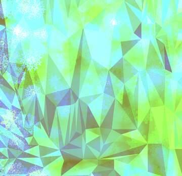 Эффект светлый. Очень яркие цвета. Фрагмент.