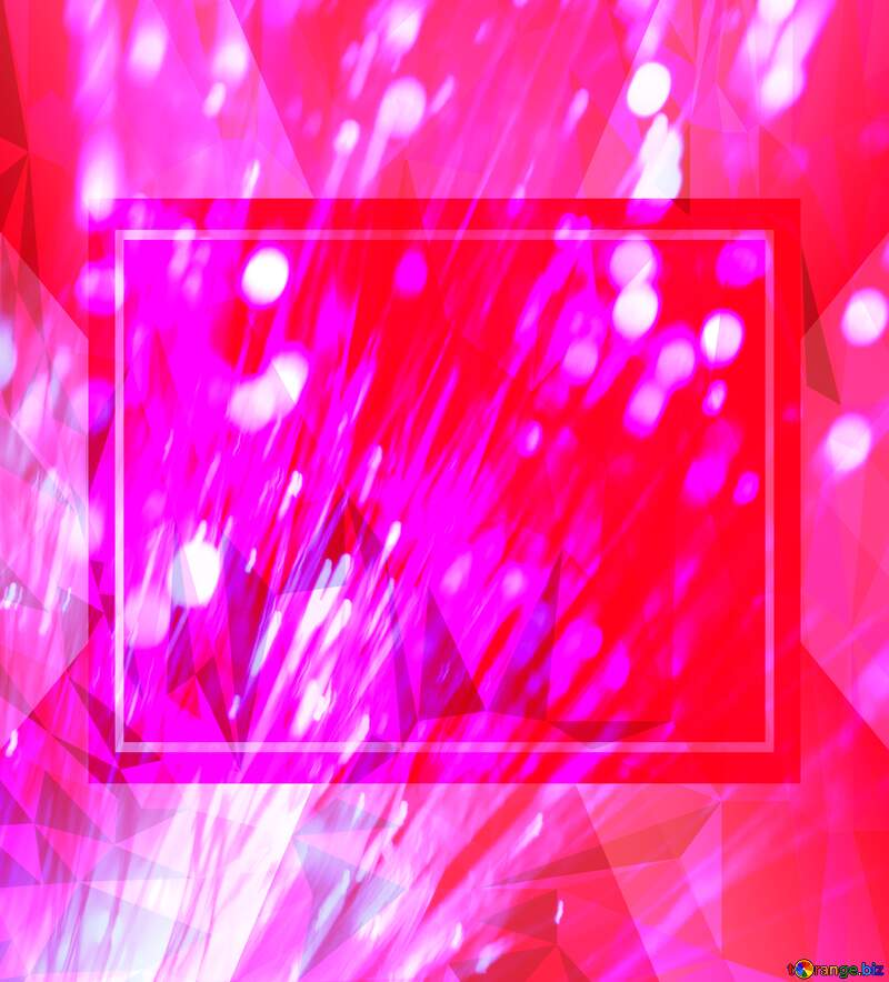 Optical fiber template business frame pink Polygon abstract geometrical background with triangles №41330