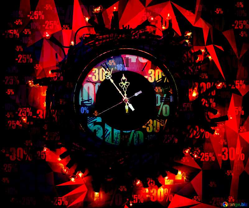 New year watches in wreath time business sale №48049