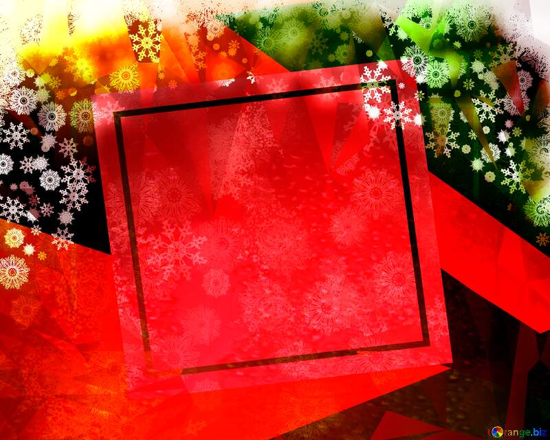 Christmas background abstract geometrical future trend template frame №40659