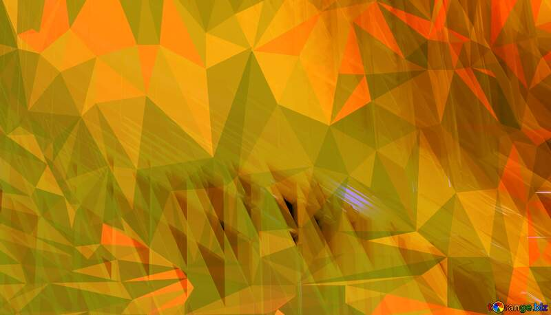 Glass Polygon abstract geometrical background with triangles №51525
