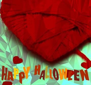 L'effetto del buio. I colori molto vivaci. Frammento. Happy halloween.
