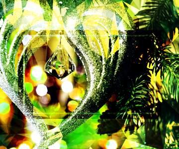 El efecto de la luz. Colores muy vivos. Fragmento.