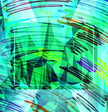 Very Vivid Colours. Fragment.